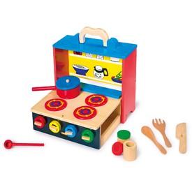 Legler dřevěná mobilní kuchyňka