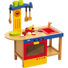 Legler Dětská dřevěná kuchyňka Magic