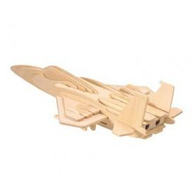 Dřevěné skládačky 3D puzzle letadla - Stíhačka F-15 P044