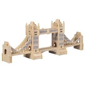 Dřevěné skládačky 3D puzzle slavné budovy Tower Bridge P055