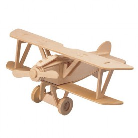 Dřevěné skládačky 3D puzzle letadla - Albatros DV P059