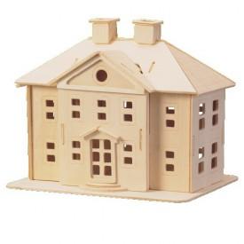 Dřevěné skládačky 3D puzzle slavné budovy - Palác P071