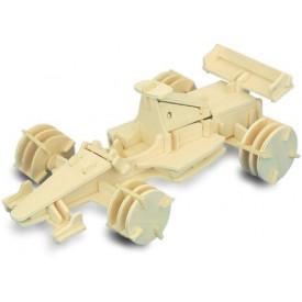 Dřevěné 3D puzzle dřevěná skládačka auta - Formule 1 P081
