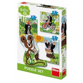 DINO Krtek na louce 3-5 BABY Puzzle set