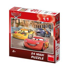DINO Puzzle Veselý Blesk MAXI 24 dílků