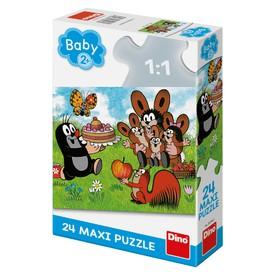 DINO Puzzle Krtek Narozeniny MAXI 24 dílků