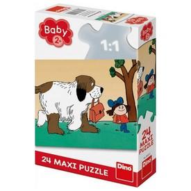 DINO Puzzle Maxipes Fík Puzzle MAXI 24 dílků