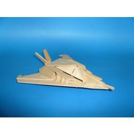 Dřevěné skládačky 3D puzzle - Neviditelná stíhačka P105