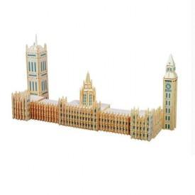 Dřevěné skládačky 3D puzzle slavné budovy - Big Ben P125