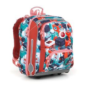 TOPGAL Školní batoh BEBE 18043 G