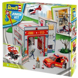 REVELL Junior Kit playset 00850  Fire Station (1:20)