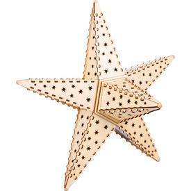 Small Foot by Legler Dřevěná svítící hvězda Nature