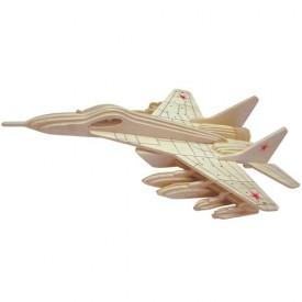 Dřevěné skládačky 3D puzzle letadla - Stíhačka MUR-29 P156