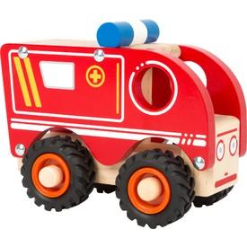 Small Foot Dřevěné hasičské auto cisterna