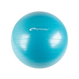 SPOKEY FITBALL II - Gymnastický míč 55 cm včetně pumpičky tyrkysový