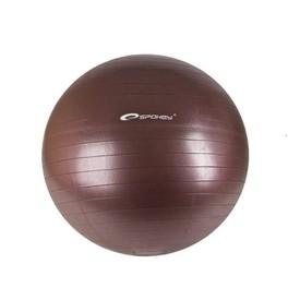 SPOKEY FITBALL II - Gymnastický míč 55 cm včetně pumpičky bordó