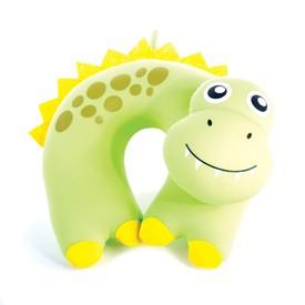 SPOKEY BAMBINI Cestovní polštářek dětský mikrokuličky dinosaur