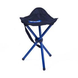 SPOKEY PATHOOK Rozkládací židle-trojnožka černo - modrá