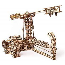Ugears Dřevěná stavebnice 3D mechanické puzzle Létajicí stroje