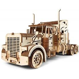 Ugears dřevěná stavebnice 3D mechanické Puzzle - Tahač Heavy Boy