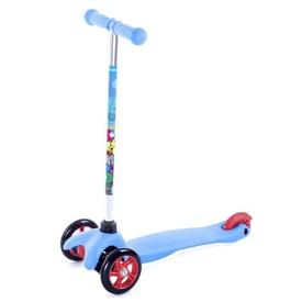 SPOKEY BULLER Skládací tříkolka dětská modrá