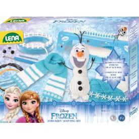 LENA Sada pletení Frozen - Ledové království