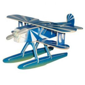 Dřevěné skládačky 3D puzzle letadla - Heinkel HE-51 PC058