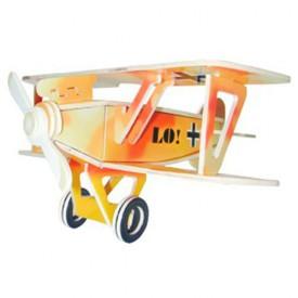 Dřevěné skládačky 3D puzzle letadla - Albatros DV PC059