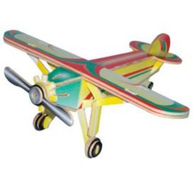 Dřevěné skládačky 3D puzzle letadla - Letadlo PC073