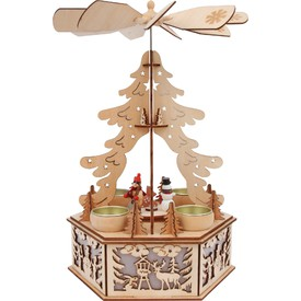 Small Foot by Legler Dřevěný svícen stromeček pyramida