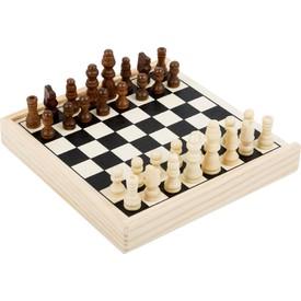 Small Foot Dřevěné cestovní šachy