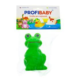 PROFI BABY Gumové pískací zvířátko Žabák