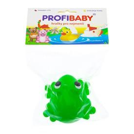 PROFI BABY Gumové pískací zvířátko Žabák ležící