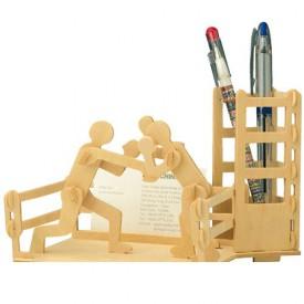 Dřevěné skládačky 3D puzzle - Stojánek na tužky Box S002