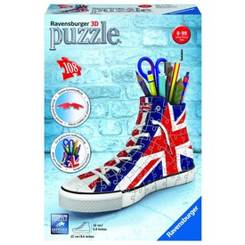Ravensburger puzzle 3D Kecka Union Jack 108 dílků