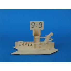 Dřevěné skládačky 3D puzzle Stojánek na tužky Běh S014