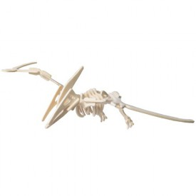 Dřevěné 3D puzzle skládačka - dinosauři Pteranodon