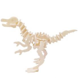 Dřevěné 3D puzzle skládačka - dinosauři Ornithomimus
