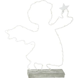 Small Foot Svítící andělíček kovový