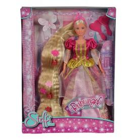 SIMBA Panenka Steffi Rapunzel červené šaty