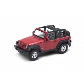 Welly Jeep Wrangler Rubicon model 1:34 červený
