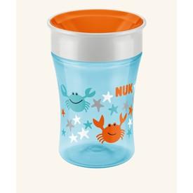NUK Magic Cup s pitným okrajem 230ml oranžová