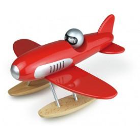 Dřevěná hračka Vilac - Dřevěné designové letadlo - Hydroplán