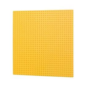 L-W TOYS Základová deska 32 x 32 žlutá