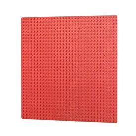 L-W TOYS Základová deska 32 x 32 červená
