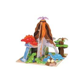 Bigjigs Toys Ostrov dinosaurů