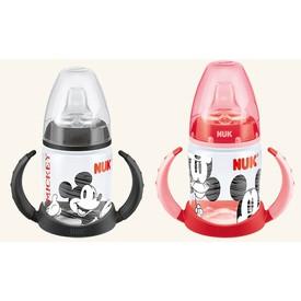 NUK First Choice lahvička na učení Mickey Mouse 150 ml černá
