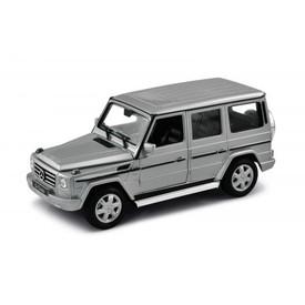 Welly - Mercedes-Benz G-Class 1:24 stříbrný poškozený obal