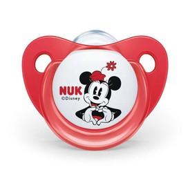 NUK Šidítko Trendine Mickey 0 - 6 m červené