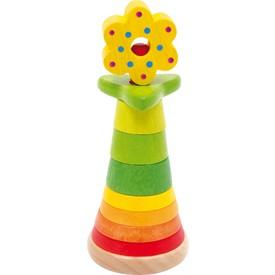 Small Foot Dřevěné hračky skládací květina